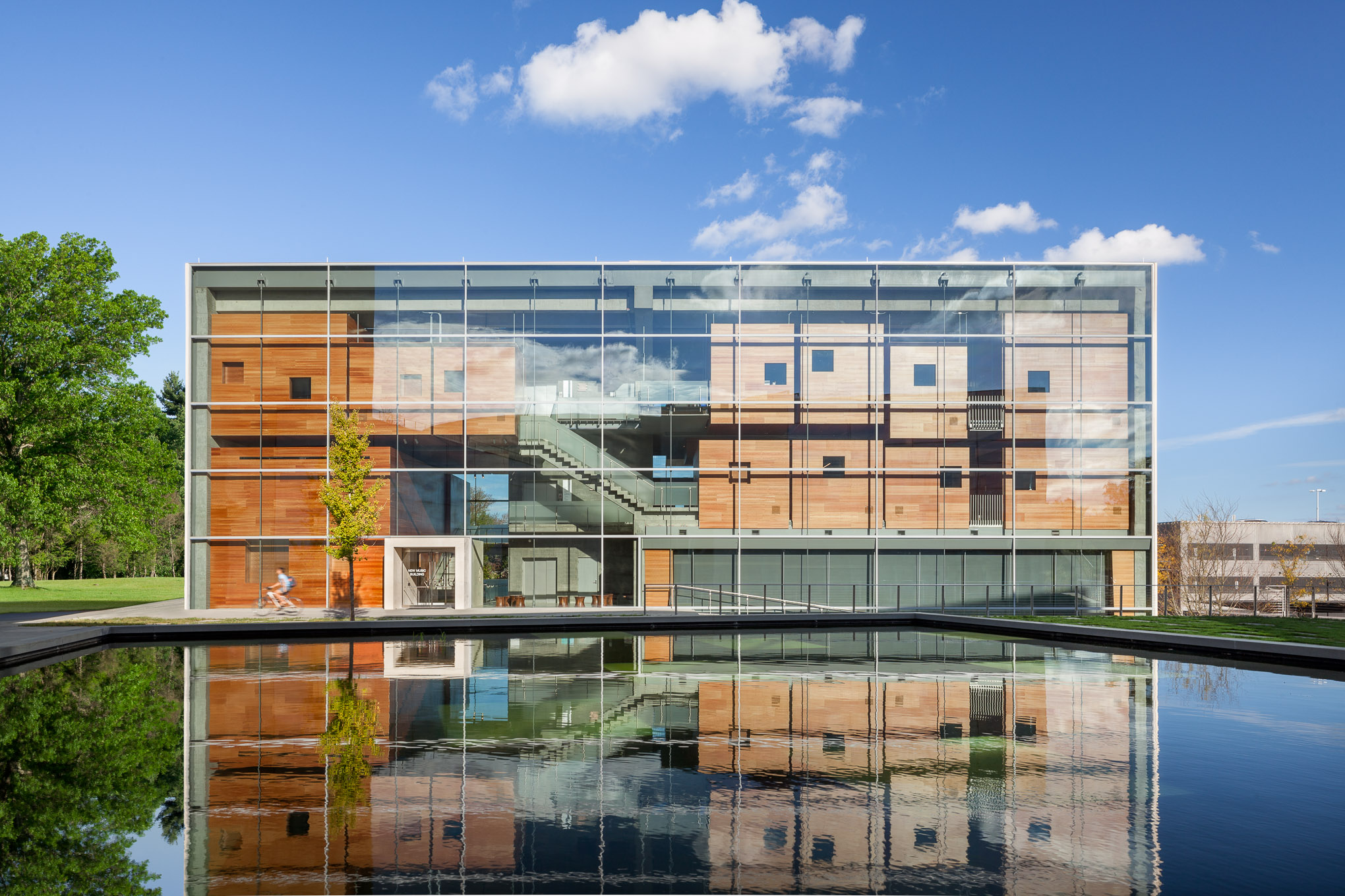 Lewis Center for the Arts, Princeton University, Steven Holl Architects