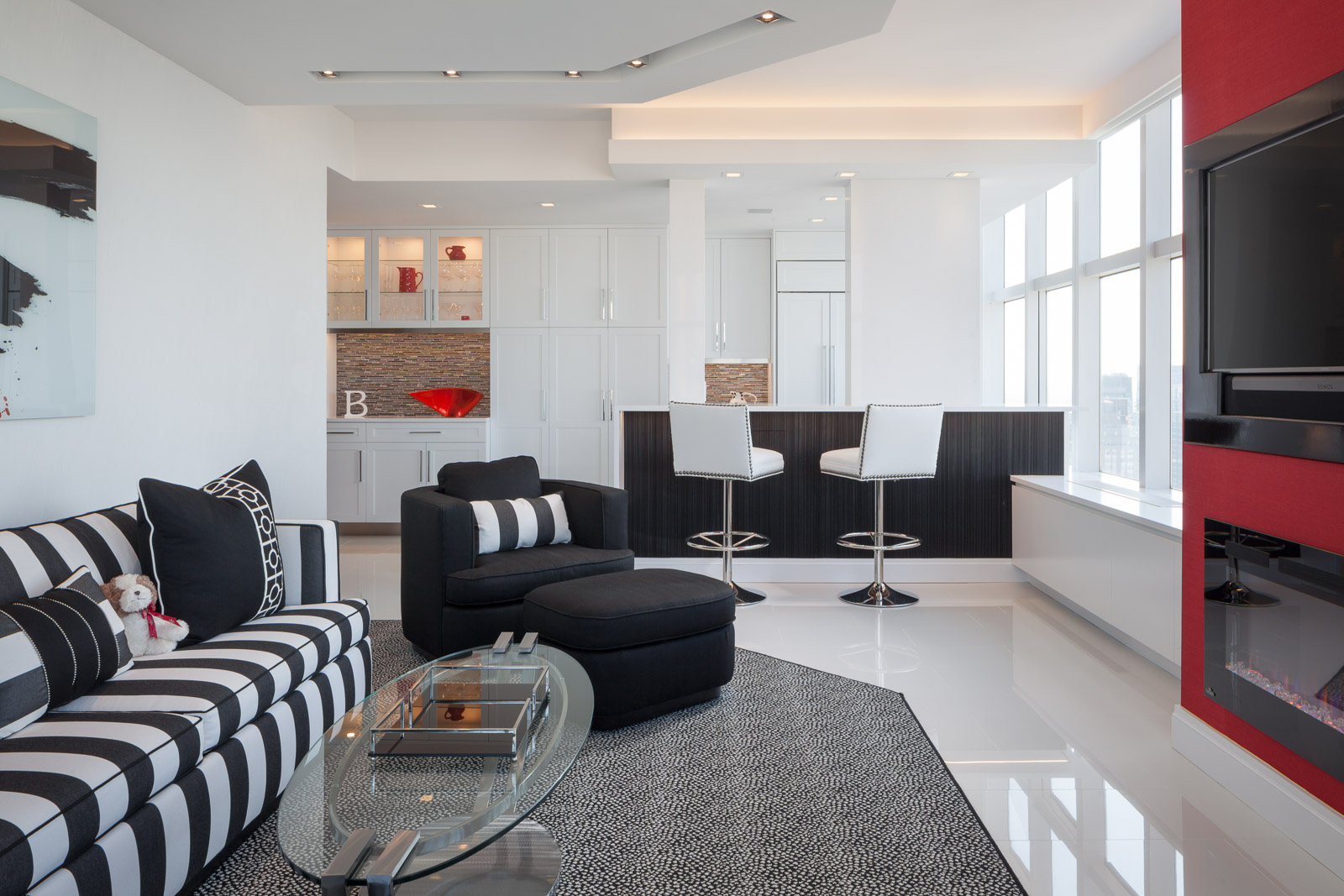 Contemporary Interior Design apartment, New York City