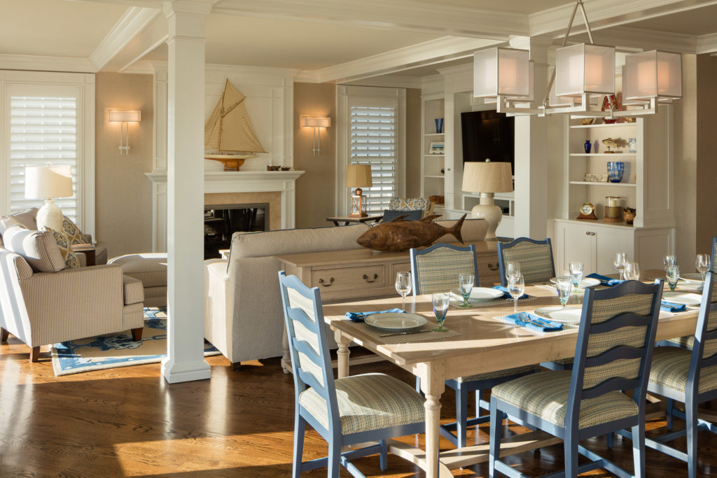 Coastal Home, Mantoloking, New Jersey, Interior Design
