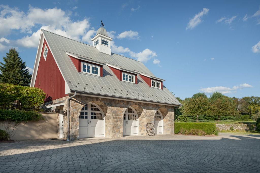 Classic Farmhouse, Mendham, New Jersey, Architect Matthew Porraro